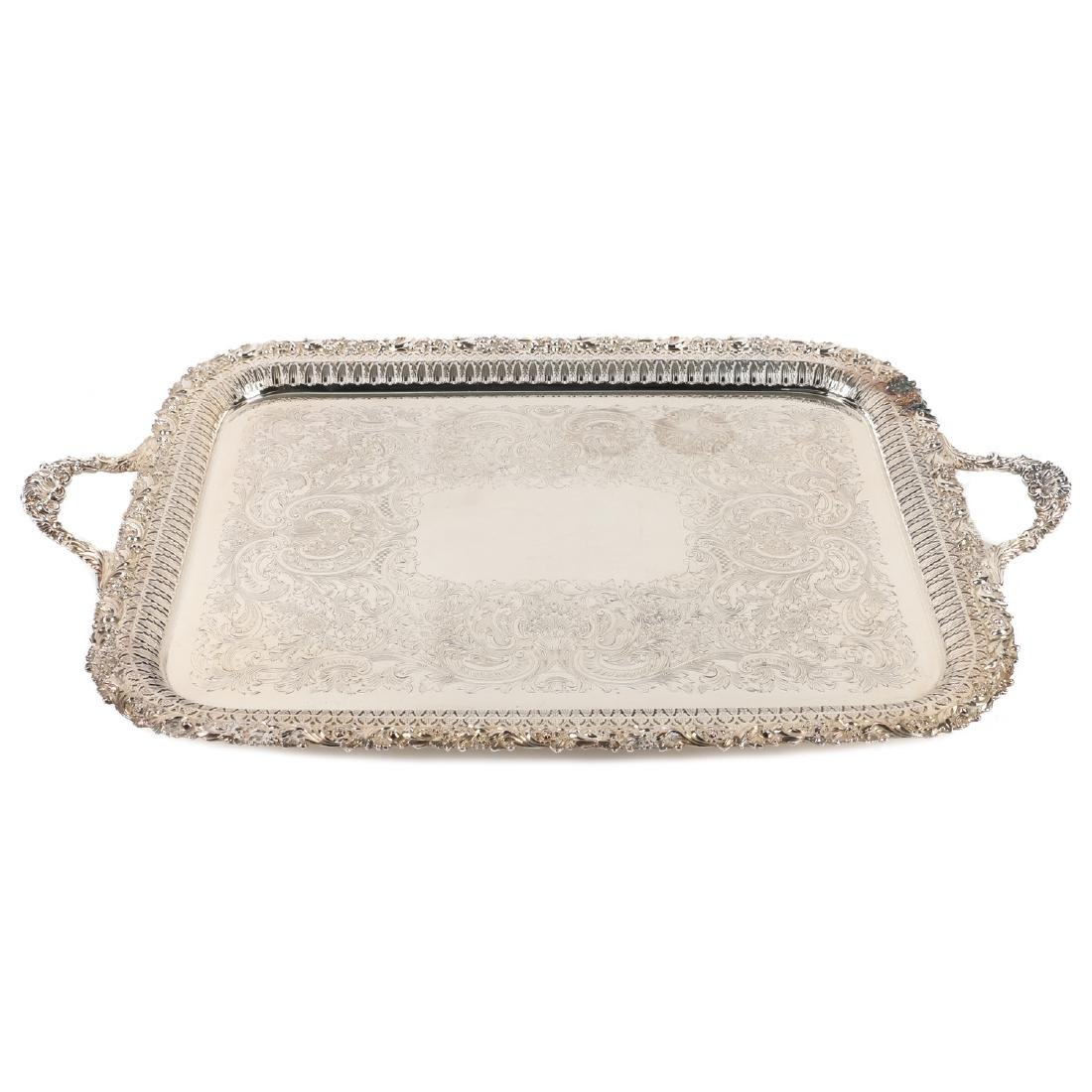 Silverplated Serving Tray