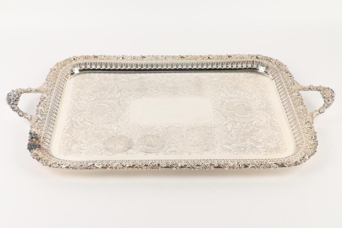 Silverplated Serving Tray - 3