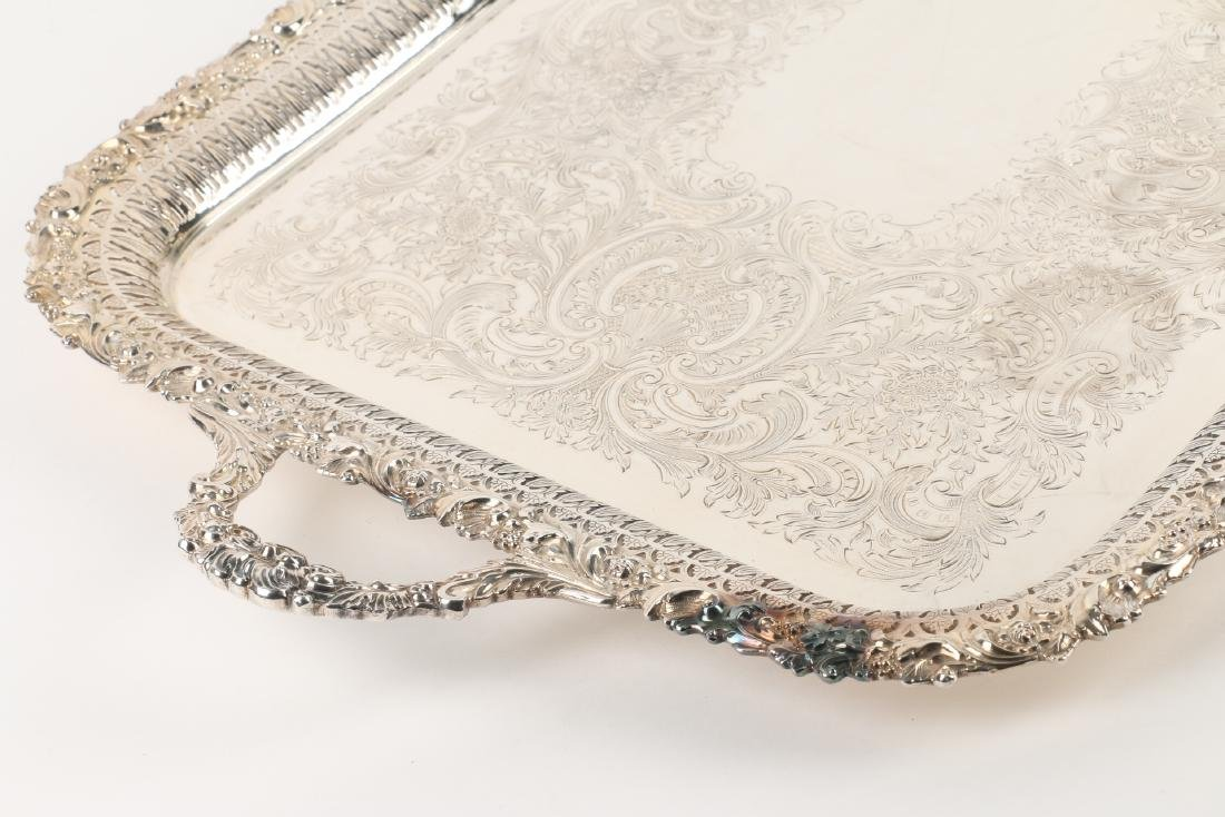 Silverplated Serving Tray - 4