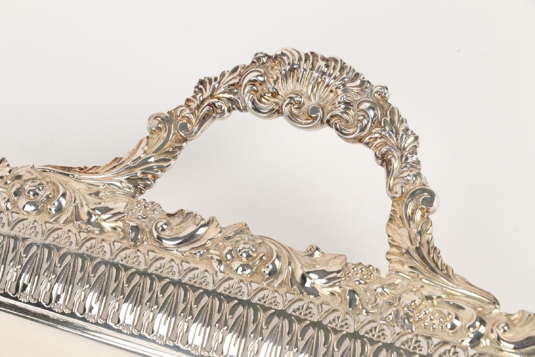 Silverplated Serving Tray - 5