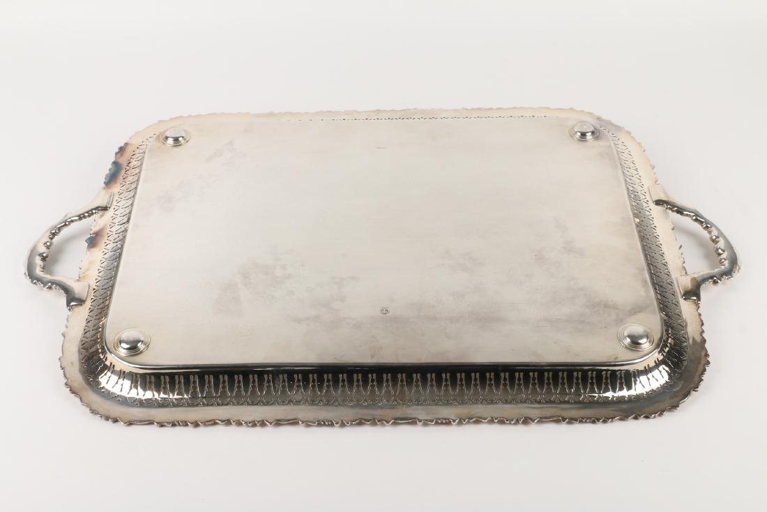Silverplated Serving Tray - 6
