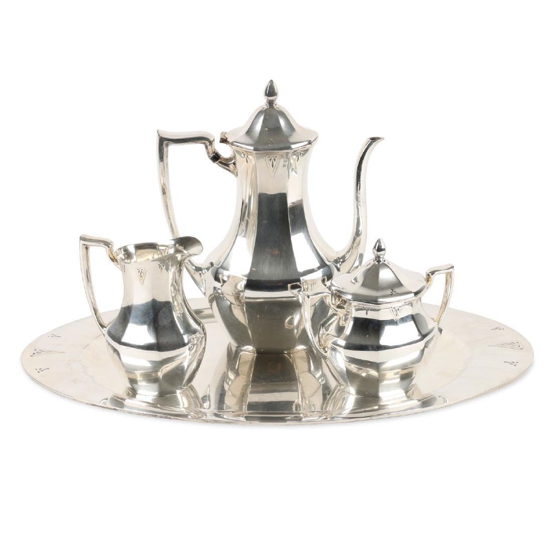 Art Deco Silverplate Tea Service