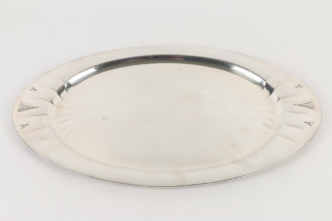 Art Deco Silverplate Tea Service - 2