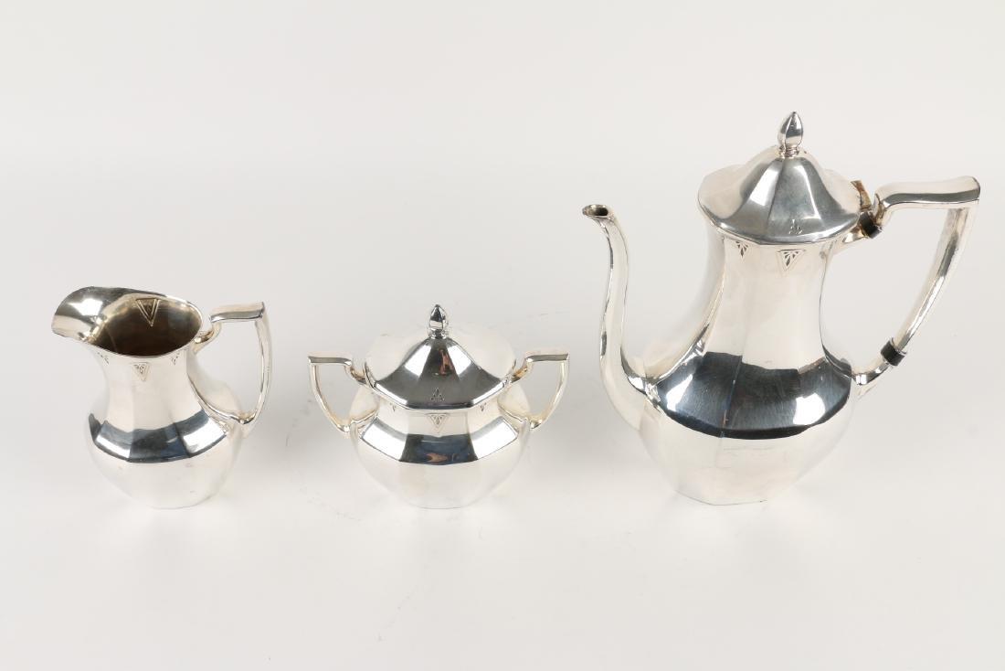 Art Deco Silverplate Tea Service - 9