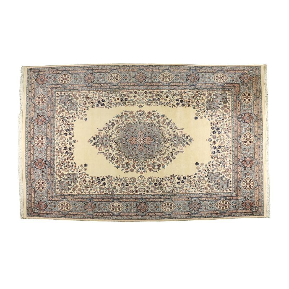 Handmade Kashmir Rug, India