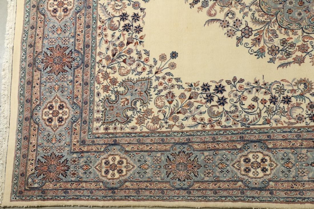 Handmade Kashmir Rug, India - 3