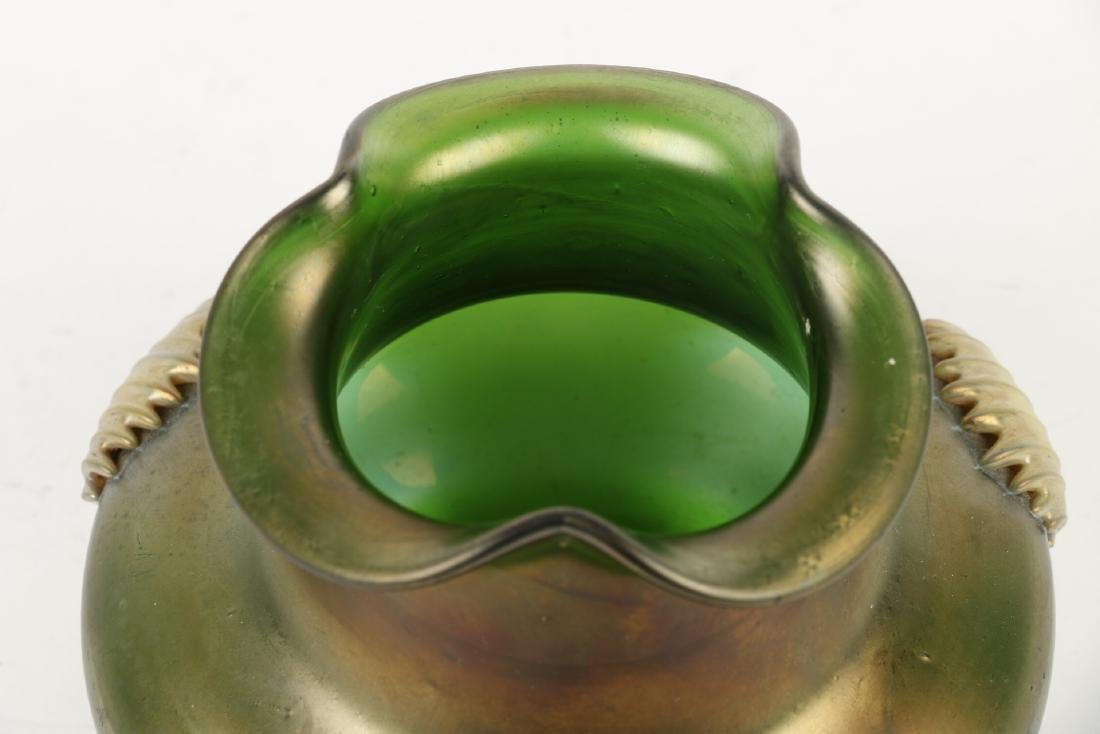 Kralik Art Glass Vase - 7