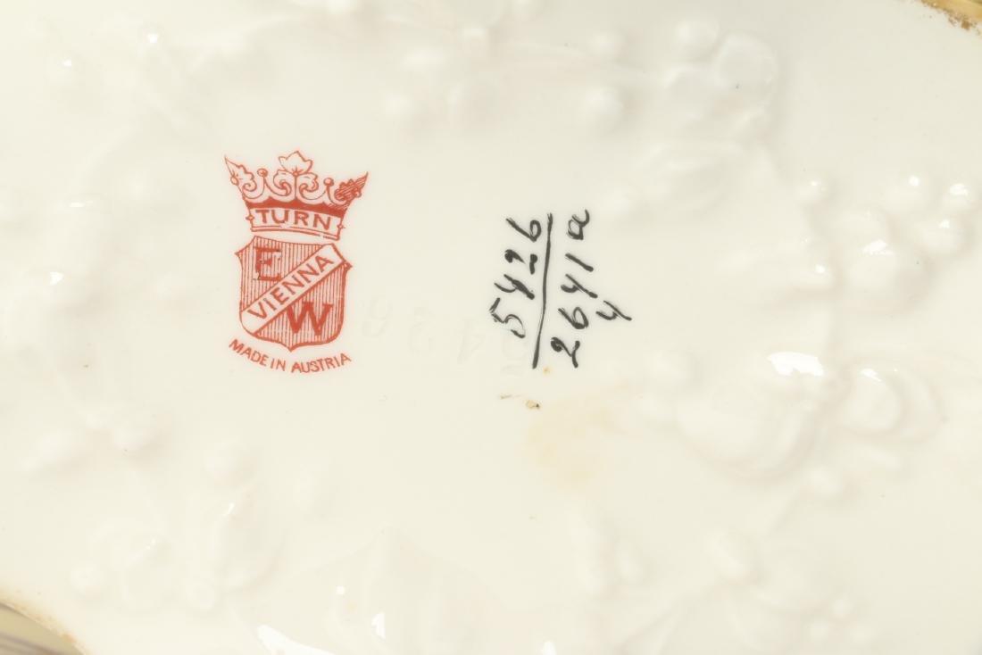 Ernst Wahliss Porcelain Reticulated Vase - 7