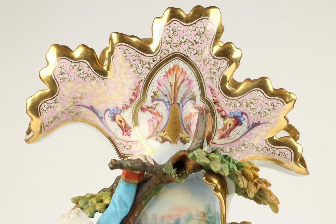Exceptional Paris Porcelain Vases - 3