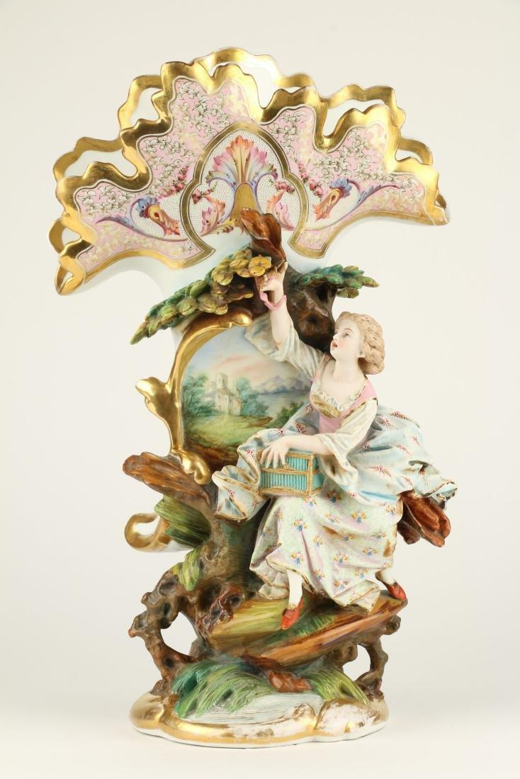 Exceptional Paris Porcelain Vases - 8