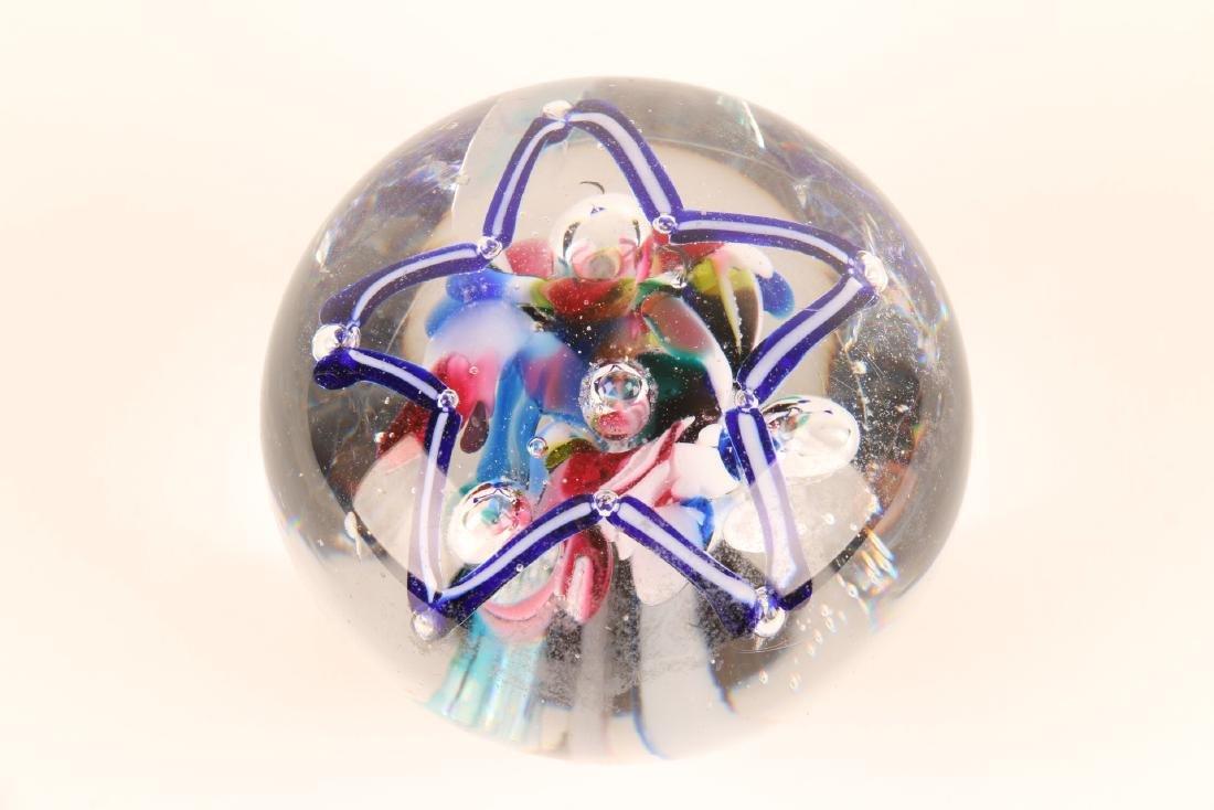 American Art Glass Paperweight - 2