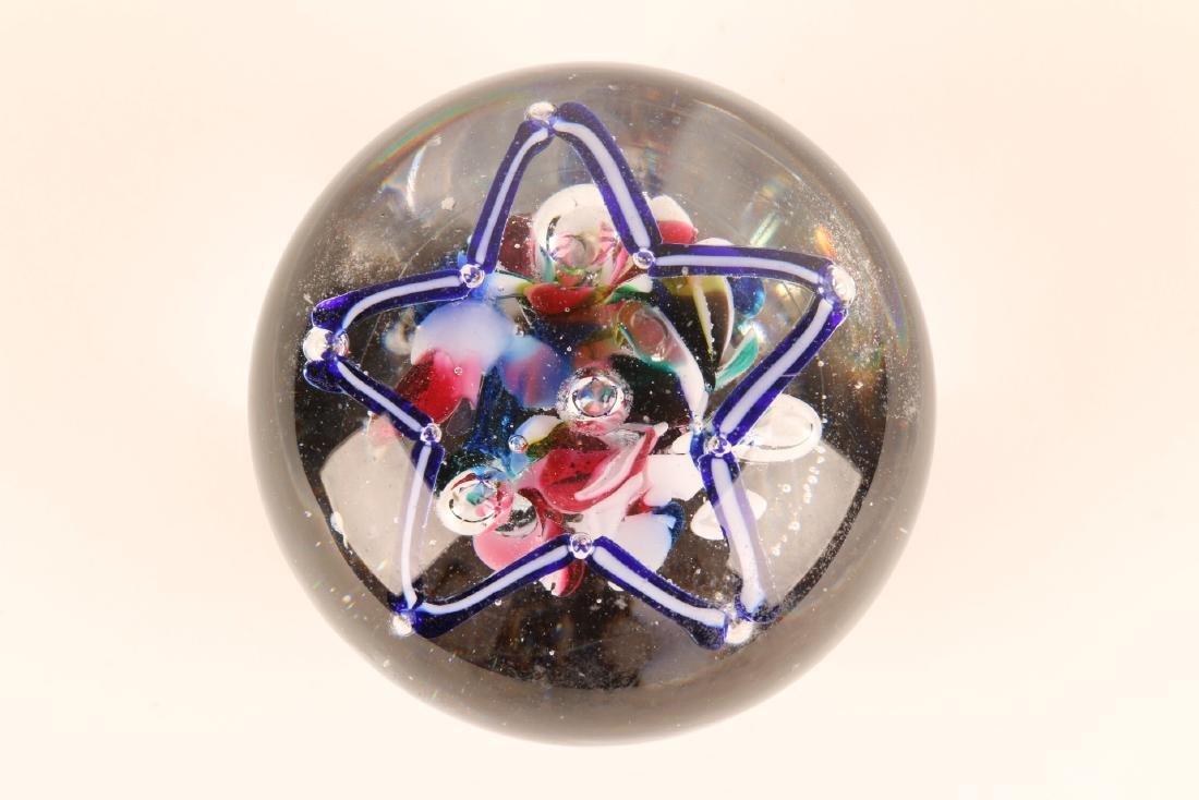 American Art Glass Paperweight - 3