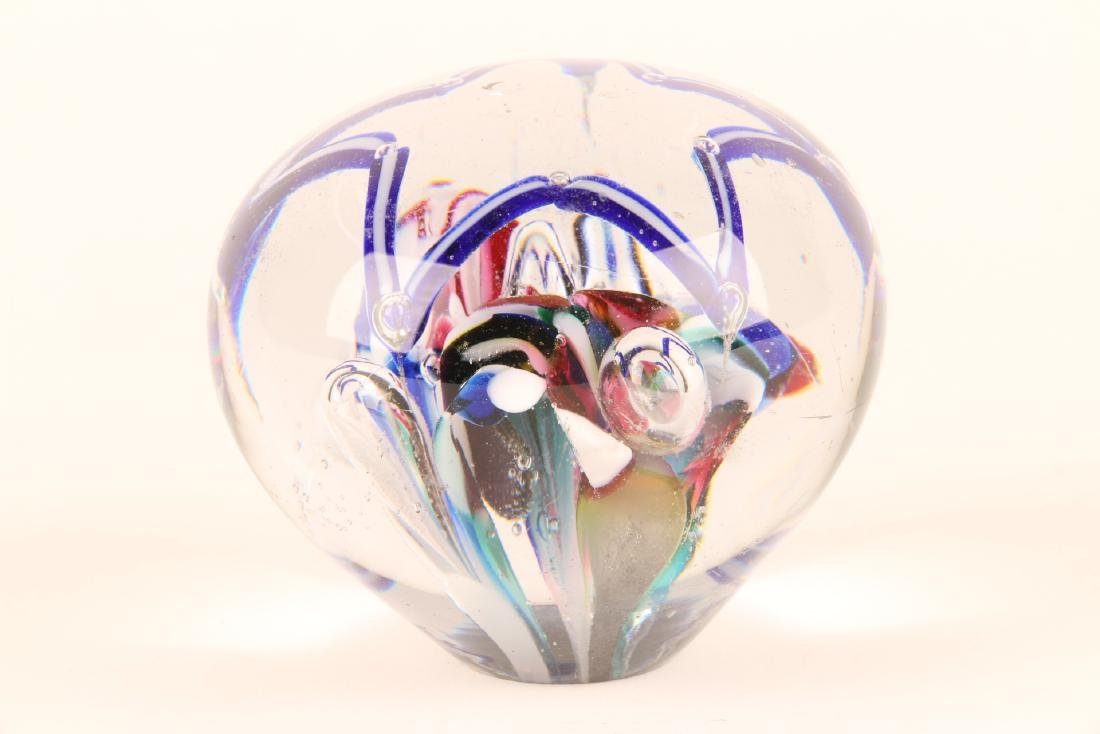 American Art Glass Paperweight - 4