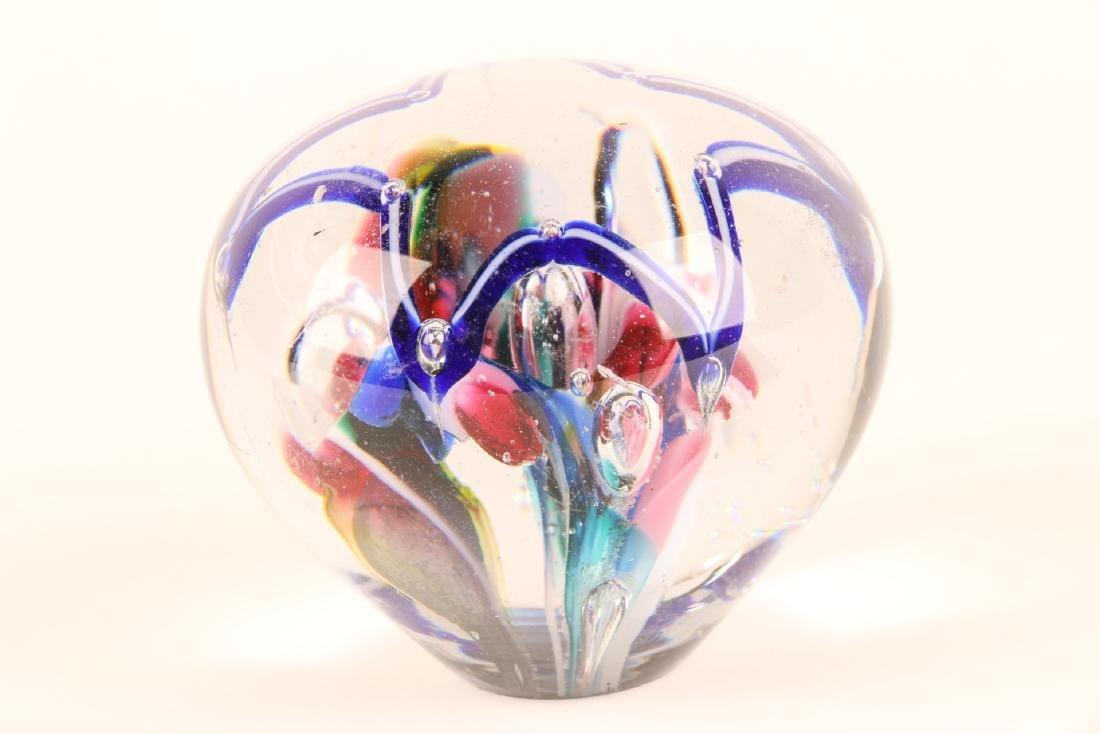 American Art Glass Paperweight - 7