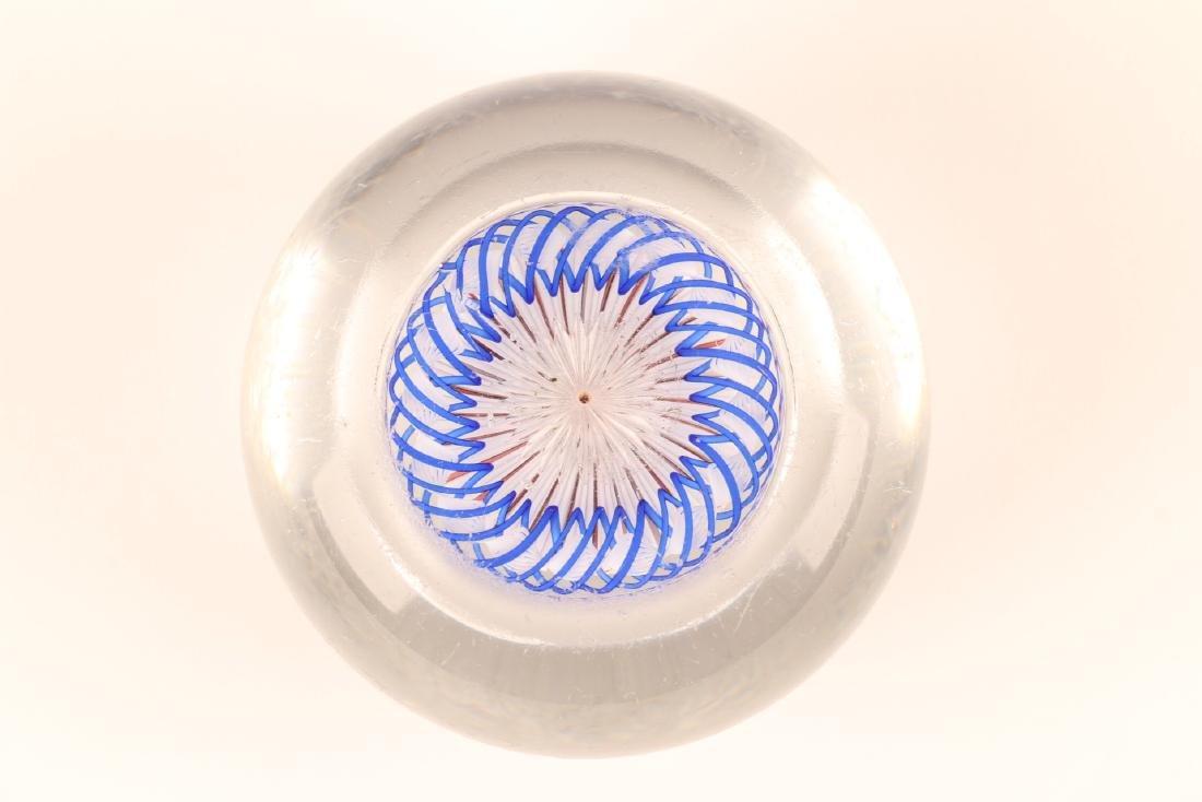 Baccarat Millefiori Art Glass Paperweight - 5