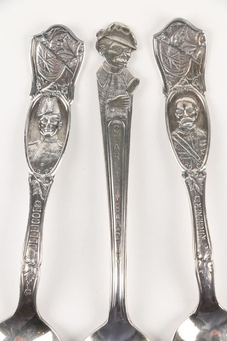 Silver Souvenir Spoons - 2