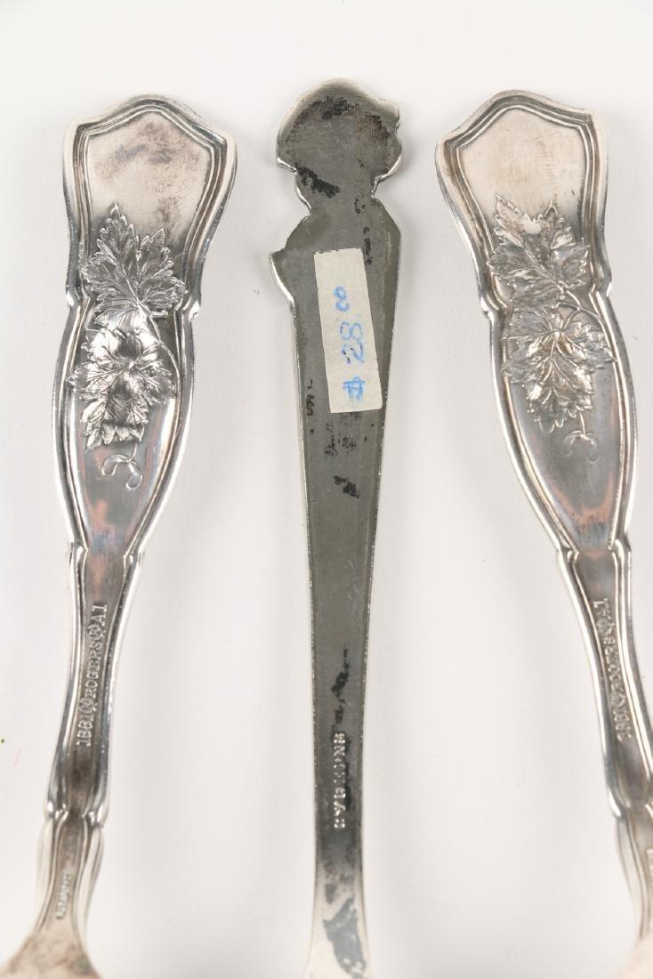 Silver Souvenir Spoons - 3