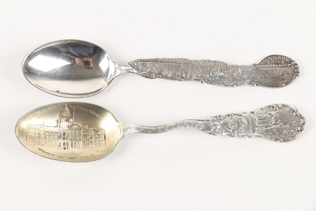 Silver Souvenir Spoons - 4