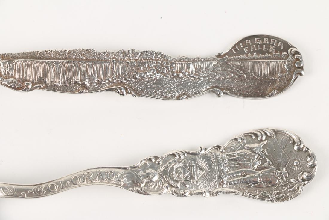 Silver Souvenir Spoons - 5