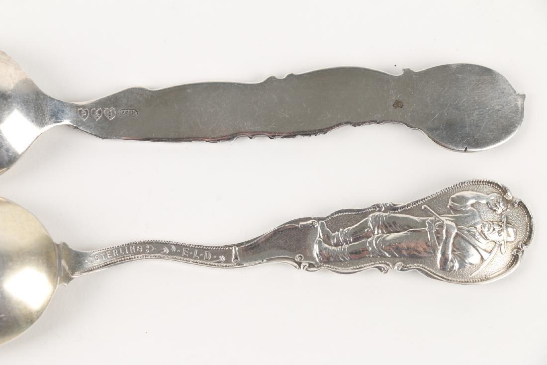 Silver Souvenir Spoons - 7
