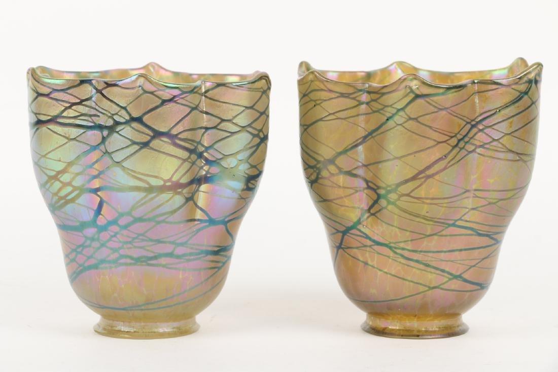 Loetz Art Glass Lamp Shades - 7
