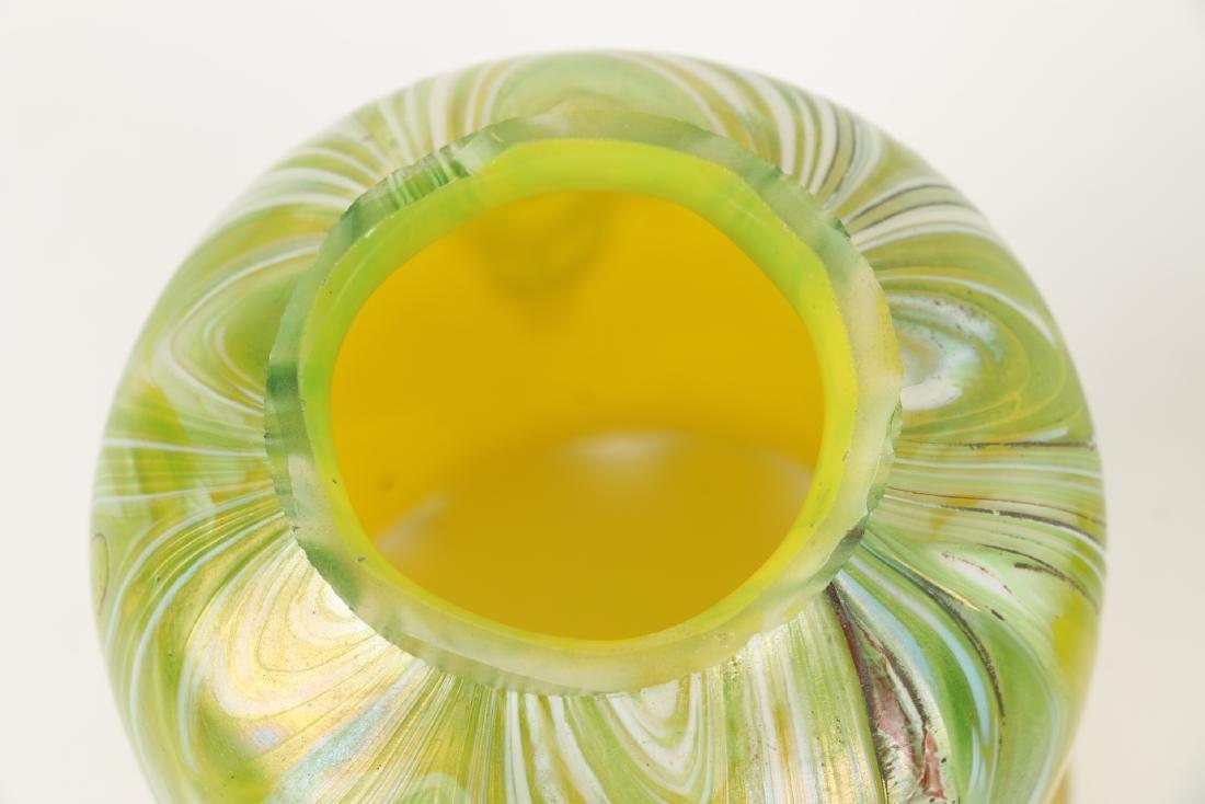Loetz Art Glass Lamp Shades - 6