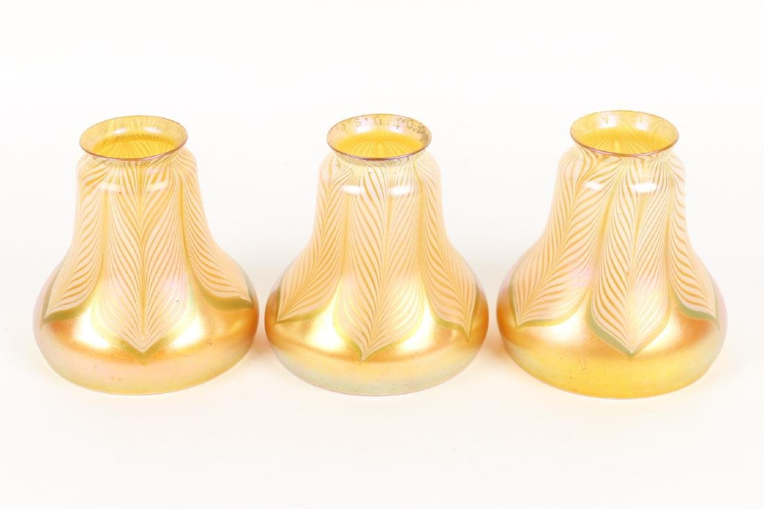 Lustre Co. Art Glass Lamp Shades - 3