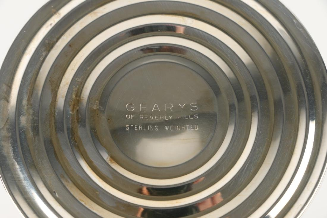 Geary's Sterling Silver Flute Vase - 9