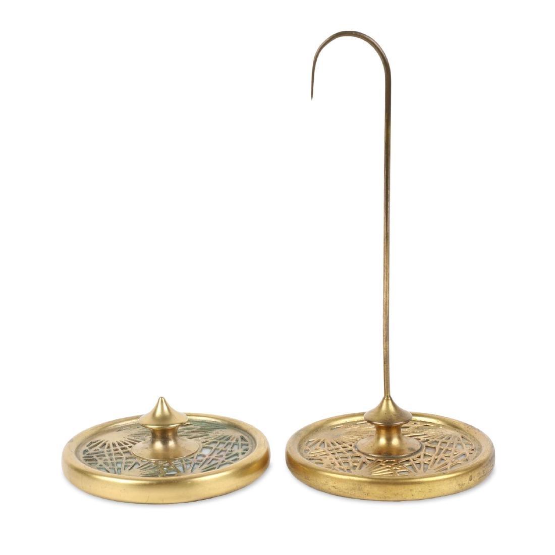 Tiffany Bronze Desk Accessories