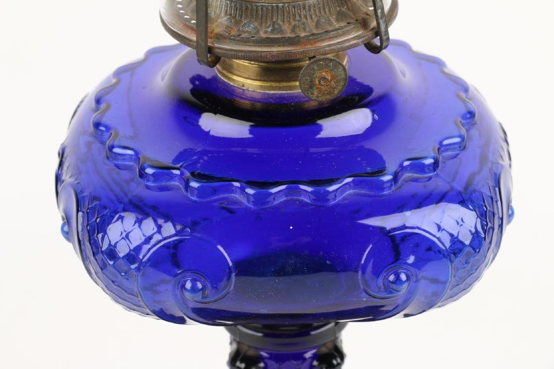 Consolidated Glass Co. Oil Lamp - 2