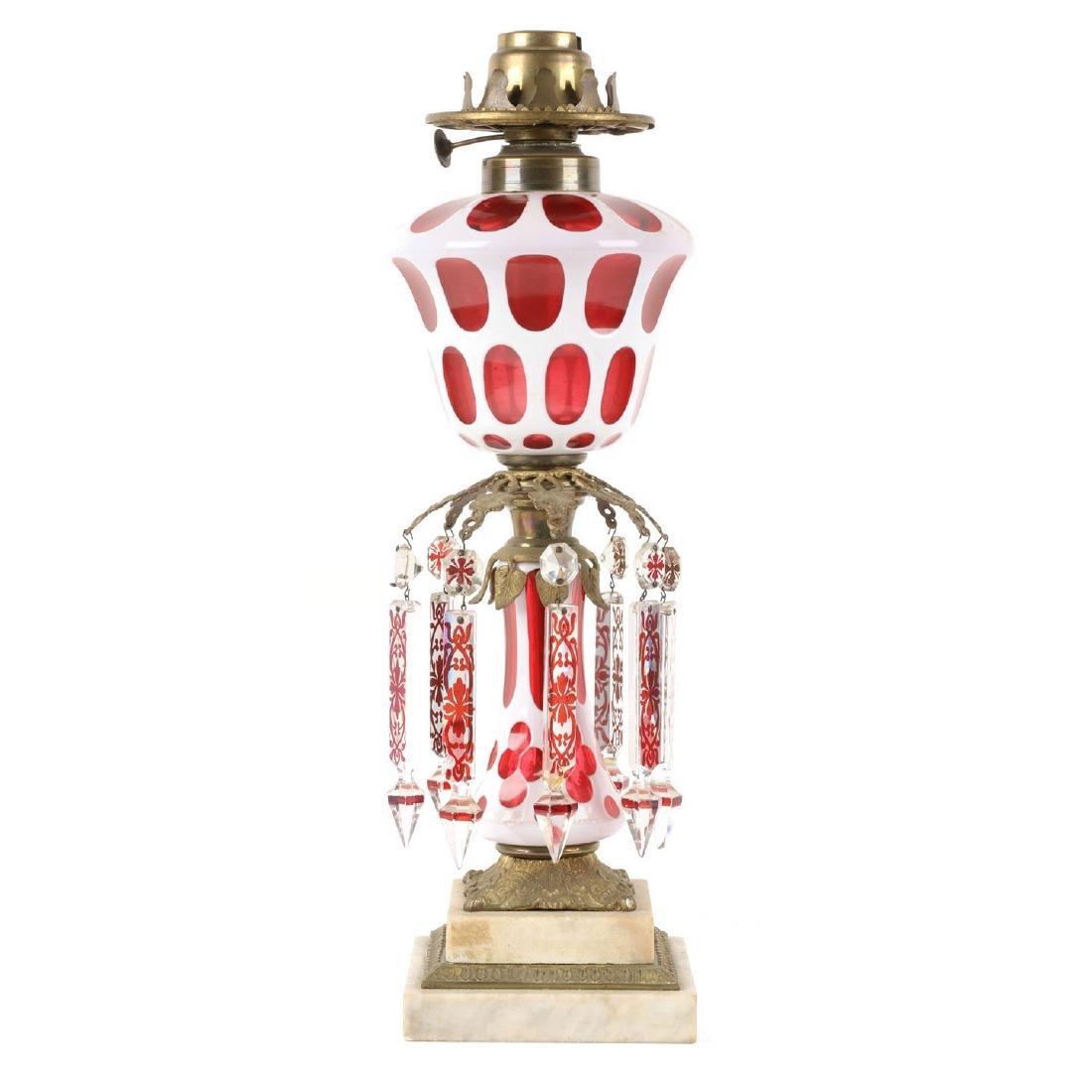Boston & Sandwich Oil Lamp