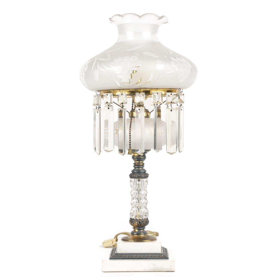 Pairpoint Cut Glass Table Lamp