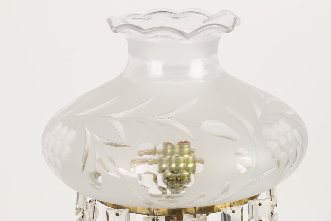 Pairpoint Cut Glass Table Lamp - 2