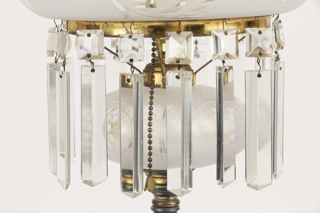 Pairpoint Cut Glass Table Lamp - 3