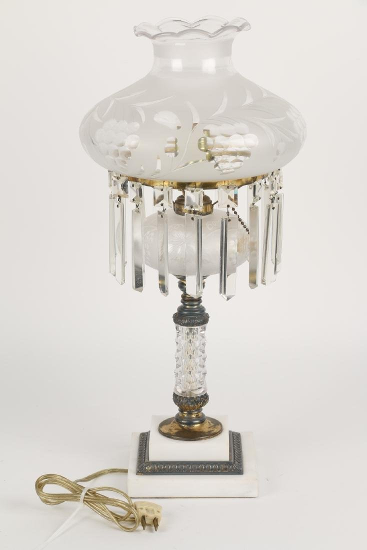 Pairpoint Cut Glass Table Lamp - 5