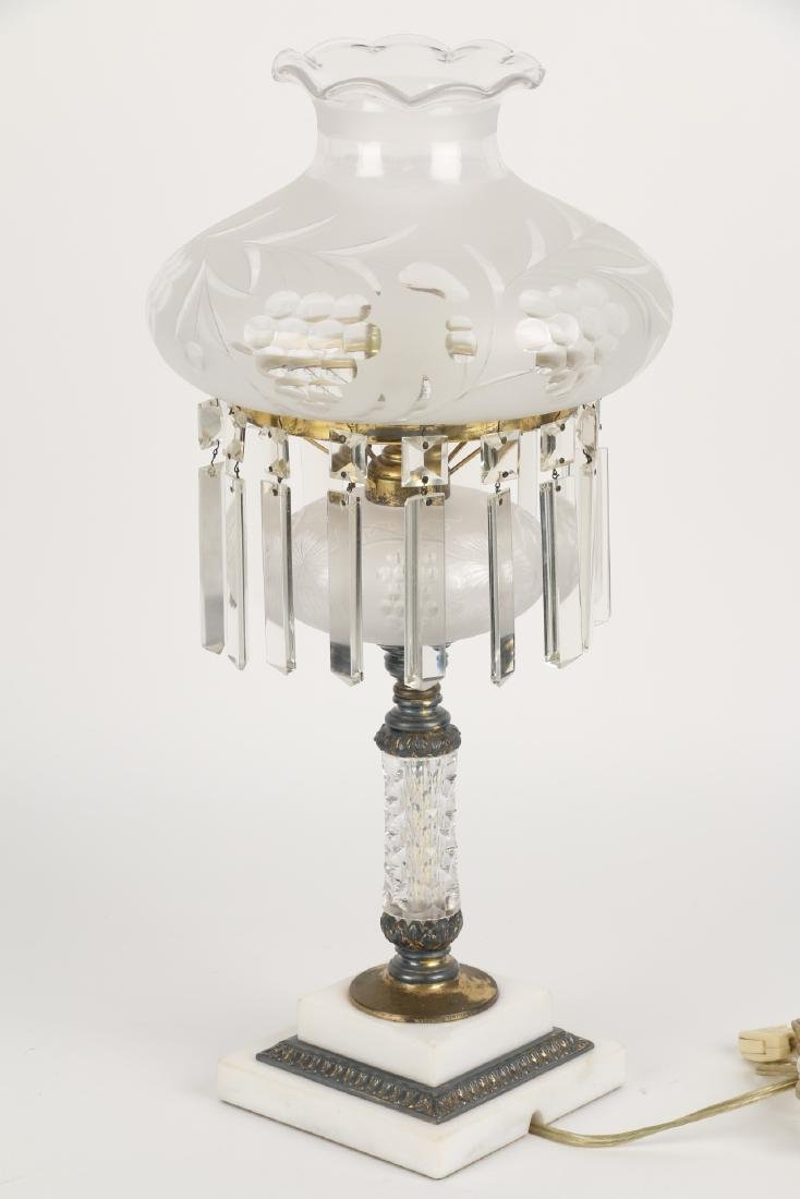 Pairpoint Cut Glass Table Lamp - 6