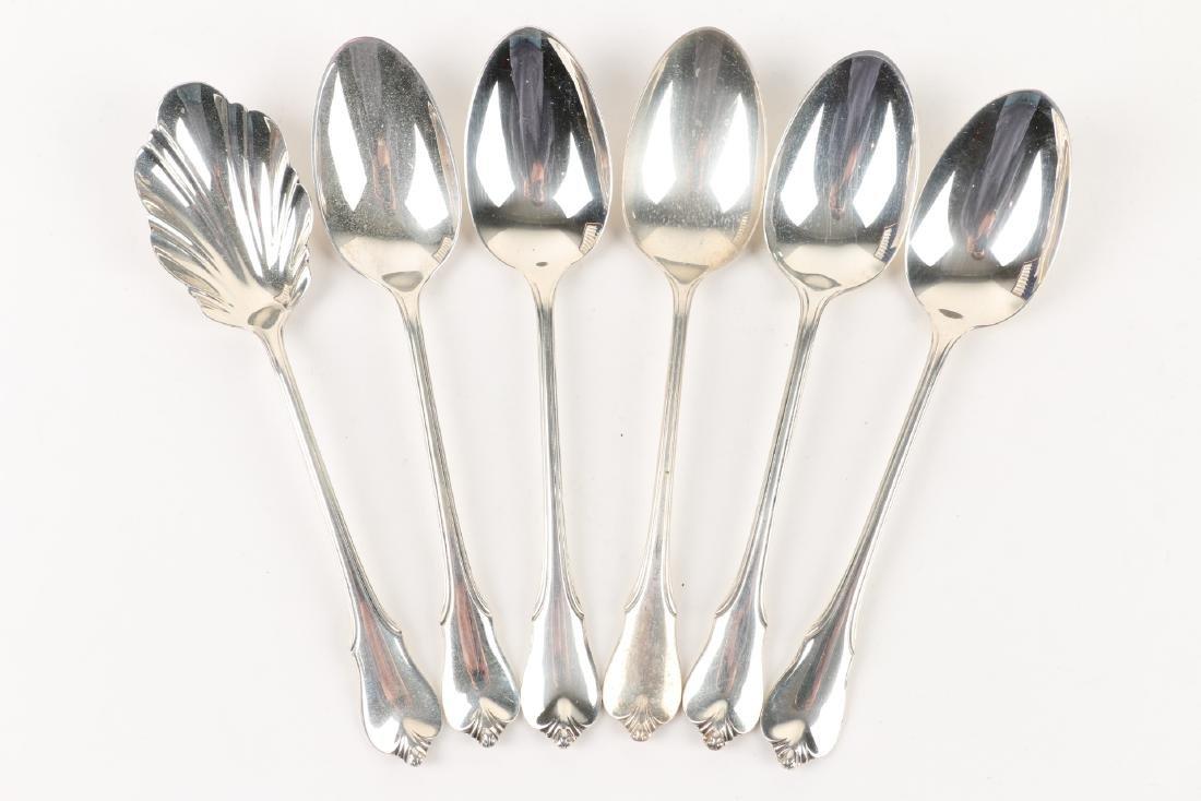 Wallace Sterling Silver Flatware Set - 11
