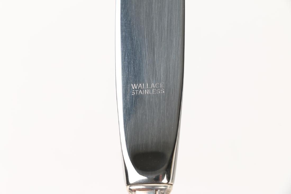 Wallace Sterling Silver Flatware Set - 5