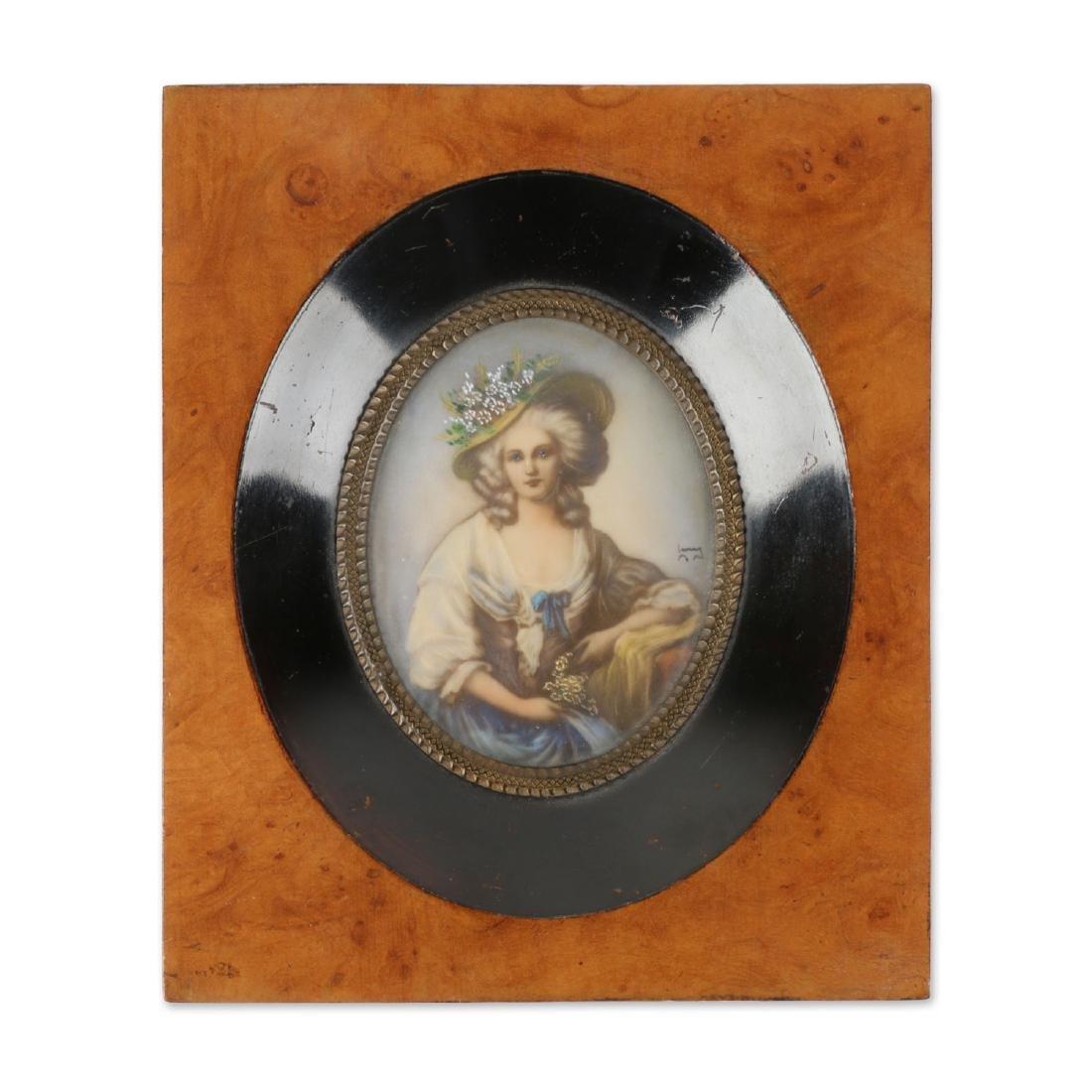 Signed Portrait Miniature