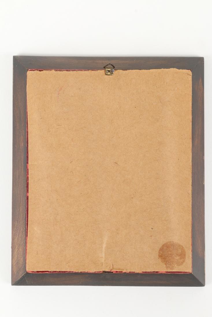 Signed Portrait Miniature - 4