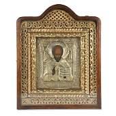 Russian Icon St Nicholas