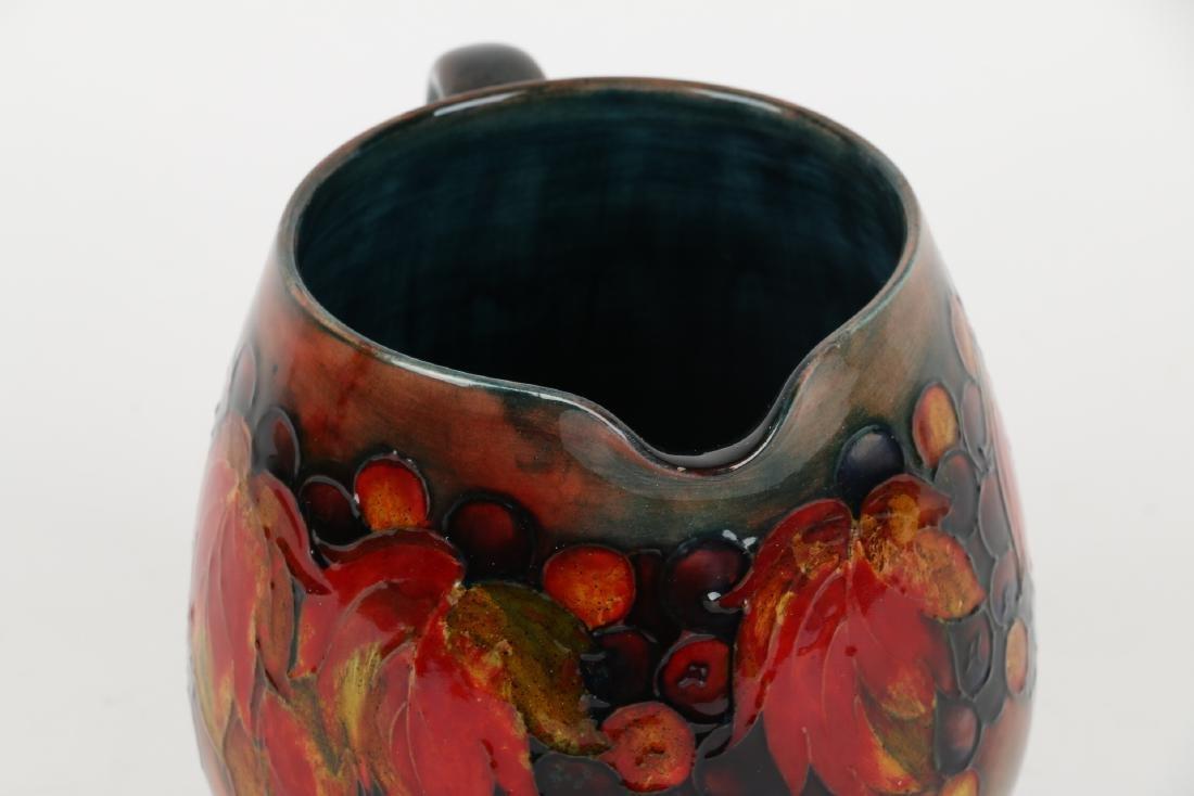 Moorcroft Pottery Pitcher - 5