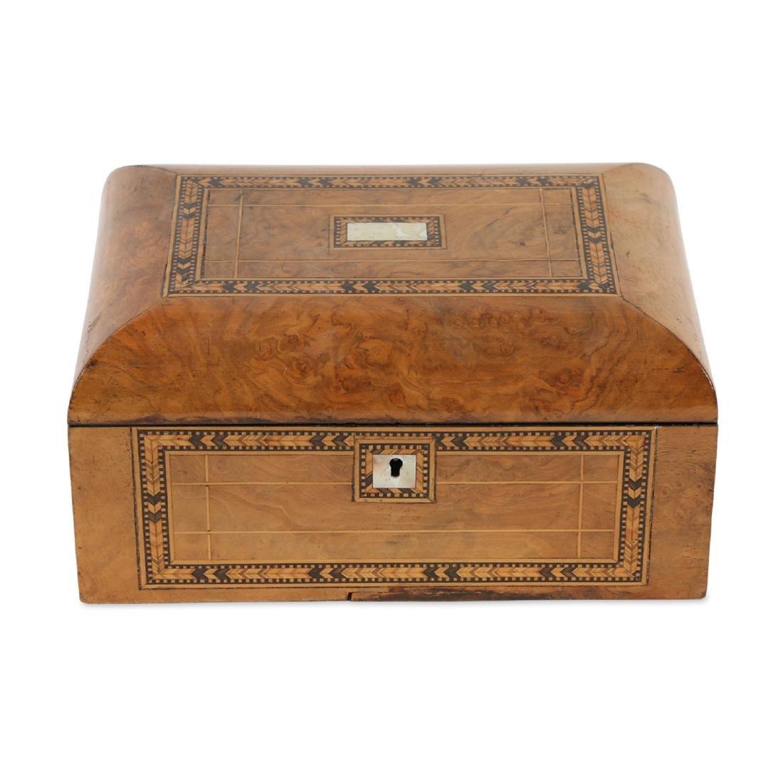 Tunbridge Inlaid Sewing Box