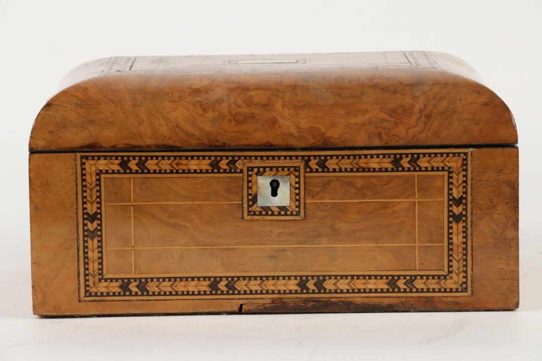Tunbridge Inlaid Sewing Box - 2