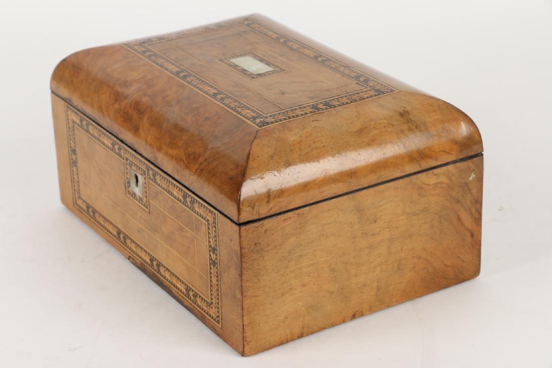 Tunbridge Inlaid Sewing Box - 4