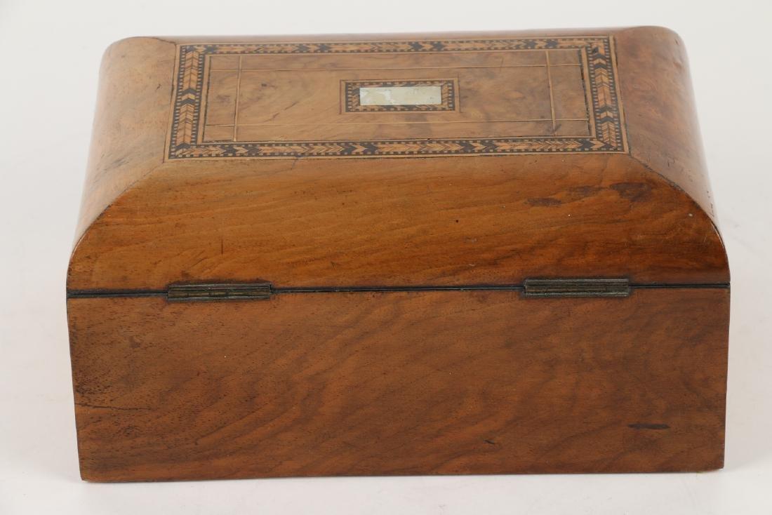Tunbridge Inlaid Sewing Box - 5