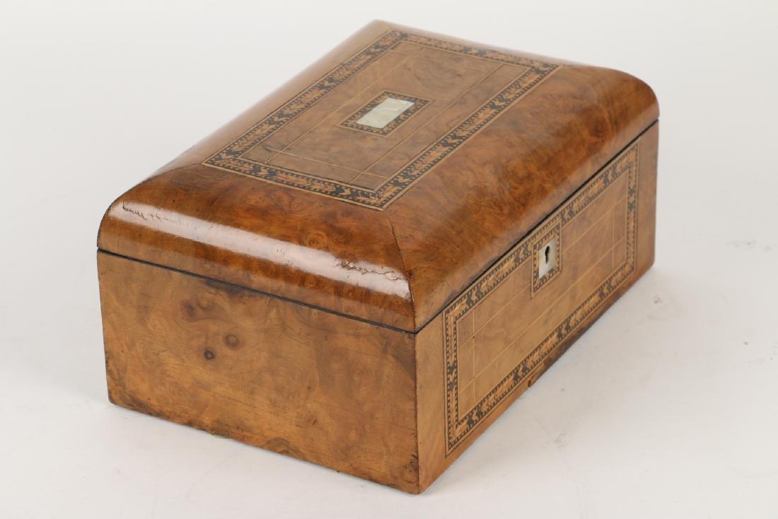 Tunbridge Inlaid Sewing Box - 6