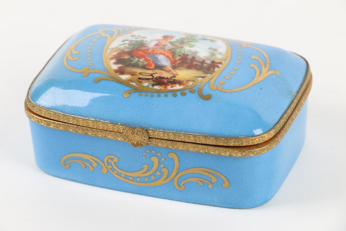 Sevres Covered Dish & Tray - 2