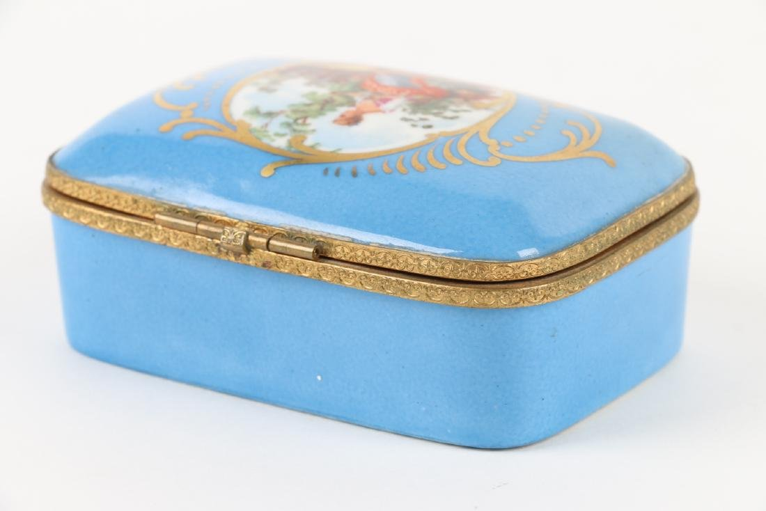 Sevres Covered Dish & Tray - 4