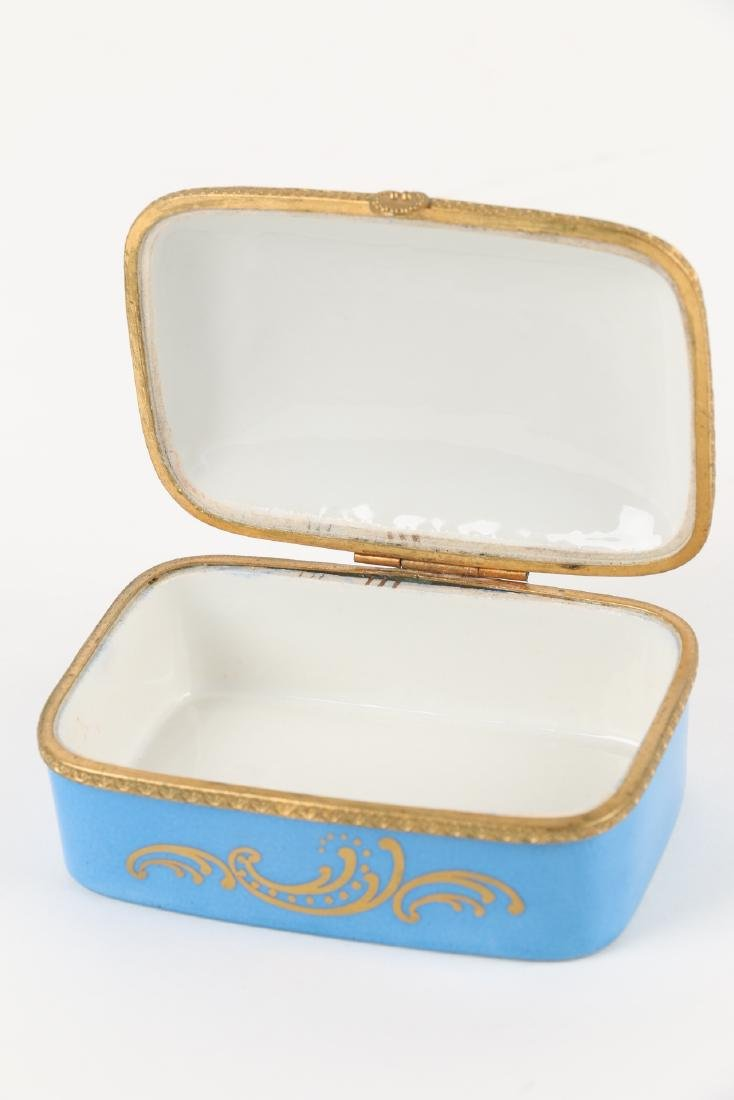 Sevres Covered Dish & Tray - 5